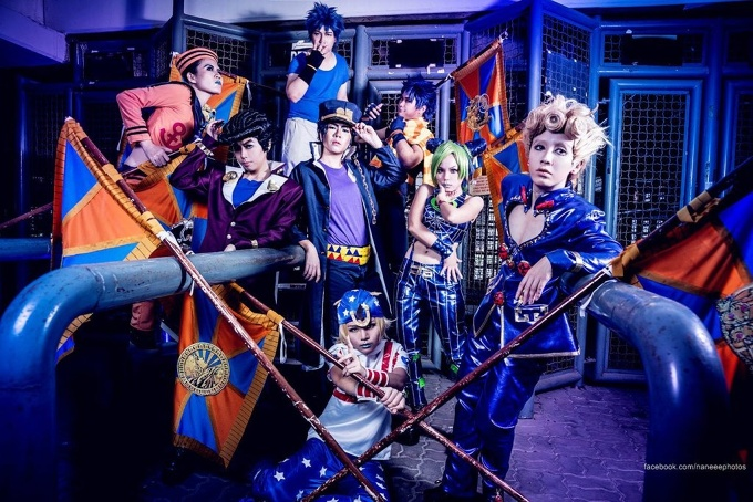 JOJO Bizzare's Adventure . Joestar Family