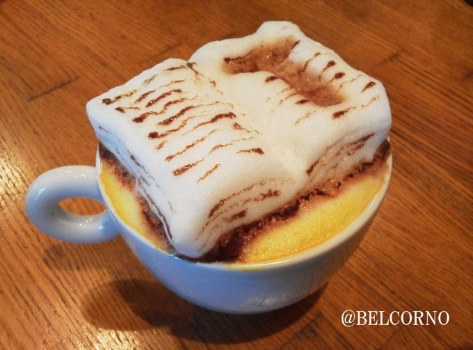 """You were right. Salvation lies within."" – 3D Latte Art from ""The Shawshank Redemption"""