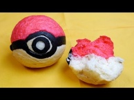 Bread Pokéball without Pokémon .Btw This is a Pokéball, not Unown , not Hitotsume-Titan  !