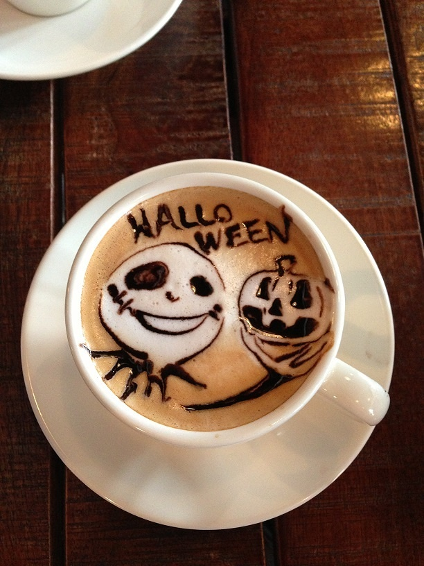 latte art~Halloween~