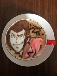 latte art~lupin~