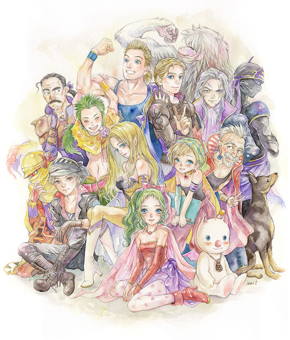 final fantasy6 - 20th anniversary