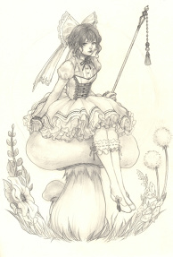 Toadstool Fairie