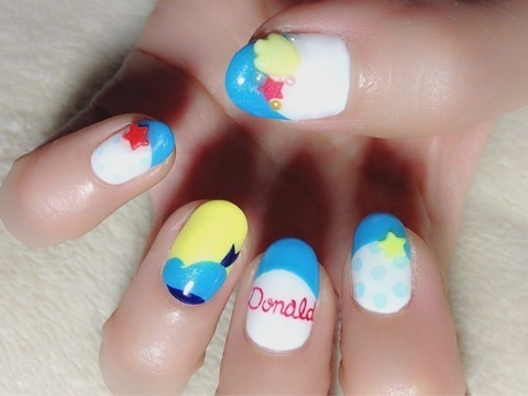 Donald Duck Nails ♪ (1/3)