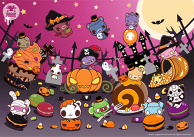 Candytooth Halloween