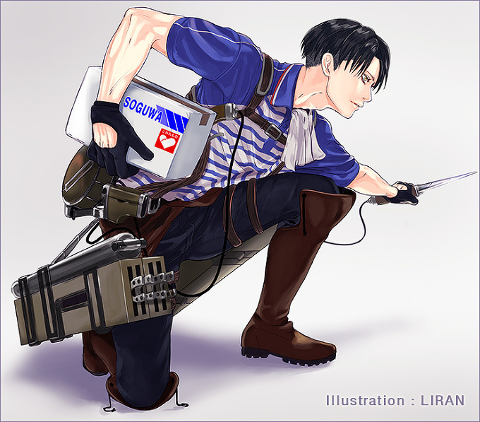 "Attack on Titan ""Home Delivery Corps"""