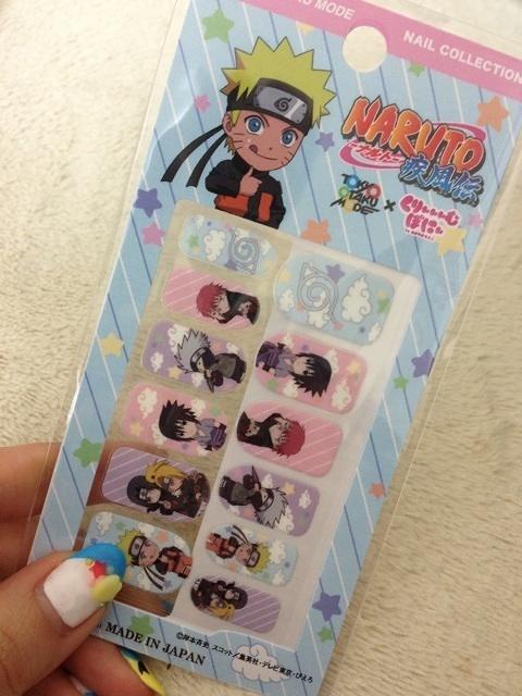 Tokyo Otaku Mode Nail Collection Naruto Nail Chips (6/6) | Tokyo ...