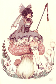 Toadstool Fairie Color