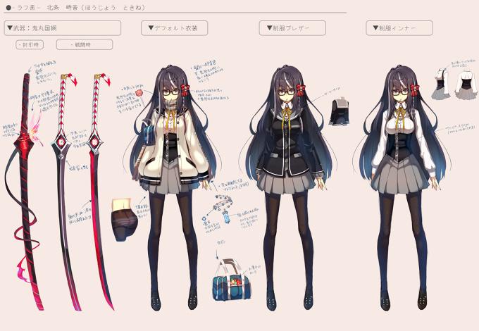 Hojo Tokine I Tried To Think Up An Original Character Tokyo Otaku Mode Gallery