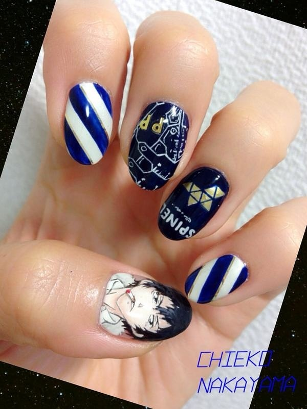 Psycho-Pass Kogami Nails