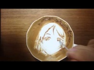"Today's Leisure Time Cappuccino, ""Eli Ayase @Love Live!"""