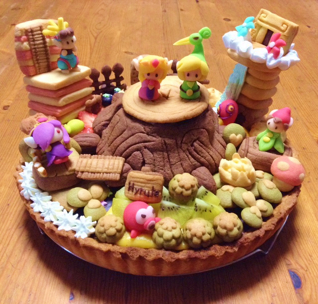 The Legend of Zelda: The Minish Cap Tart