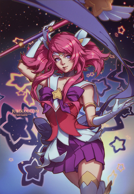 League of Legends - Star Guardian Lux