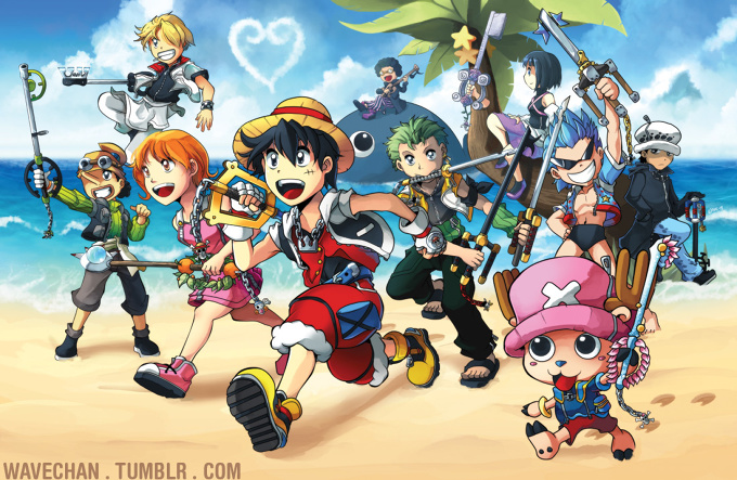 Kingdom Hearts X One Piece