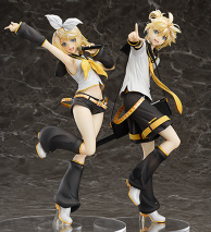 Kagamine Rin & Len Tony Ver. Figures Are Complete!