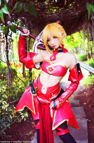 Mordred cosplay: fate grand order