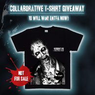Collaborative T-shirt giveaway on now!