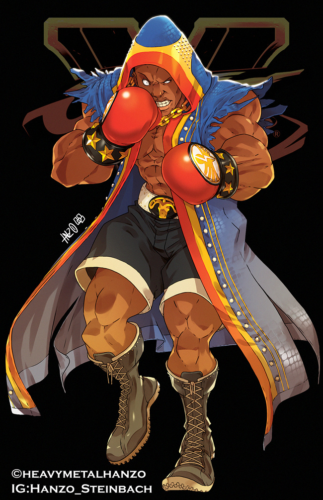 Street Fighter V-Balrog/M.Bison