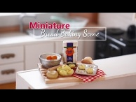 Miniature Baking Scene with Nendoroid Mako