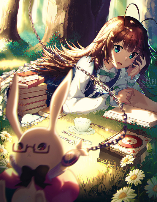 Alice Meets the Rabbit